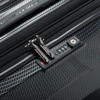 nouveau produit ed697 91fc1 Valise à 4 roues Delsey Air France Premium 68 cm Noir