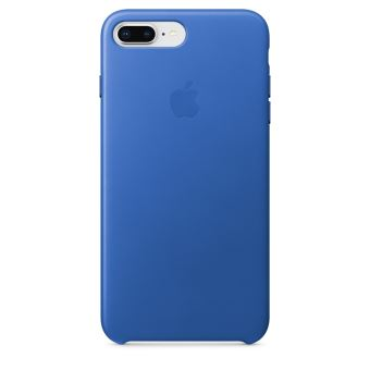 APPLE IPHONE 8+/7+ LEATHER CASE ELECTRIC BLUE