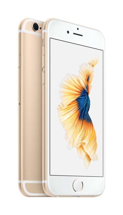 Apple iPhone 6s Smartphone débloqué 4G (Ecran : 4,7 pouces - 16 Go - iOS 9) Or