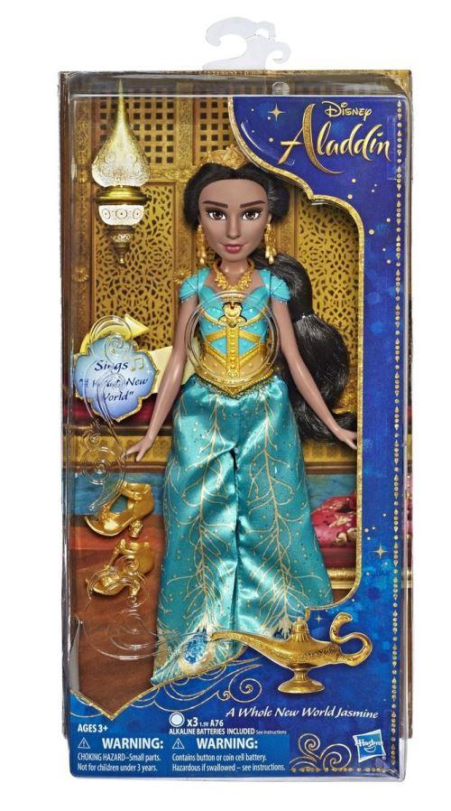 Disney Aladdin Princesse Jasmine Musical Enfant Poupée *Neuf*