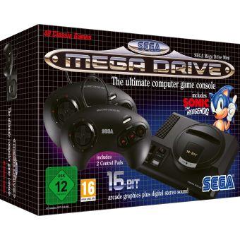 Sega Mega drive mini zwart