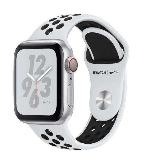Apple Watch Series 4 Nike+ Cellular 40 mm Boîtier en Aluminium Argent avec Bracelet Sport Nike Platine pur et Noir - Montre connectée. Remise permanente de 5% pour les adhérents. Commandez vos produits high-tech au meilleur prix en ligne et retirez-les en