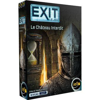 Jeu de société Iello Exit Le Château Interdit