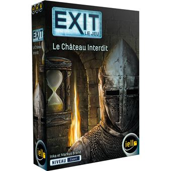 Jeu d'escape game Iello Exit Le Château Interdit