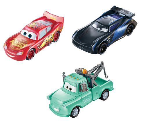 Pack 3 en 1 Cars Changeurs de couleurs 3 véhicules