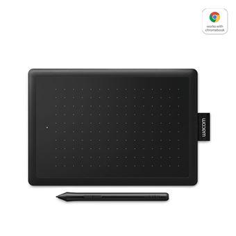 Wacom One Small 2017 Grafische Tablet Zwart en Rood met Stylus Pen