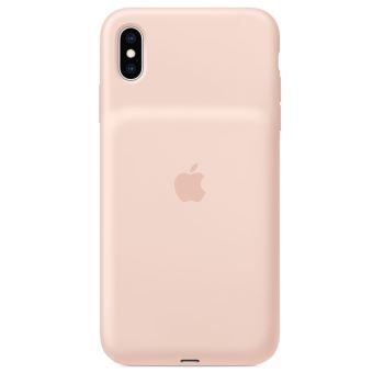Smart Battery Case Apple Rose des sables pour iPhone XS Max