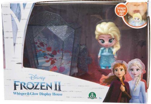 Maison avec figurine lumineuse Elsa Disney Frozen La Reine des Neiges 2