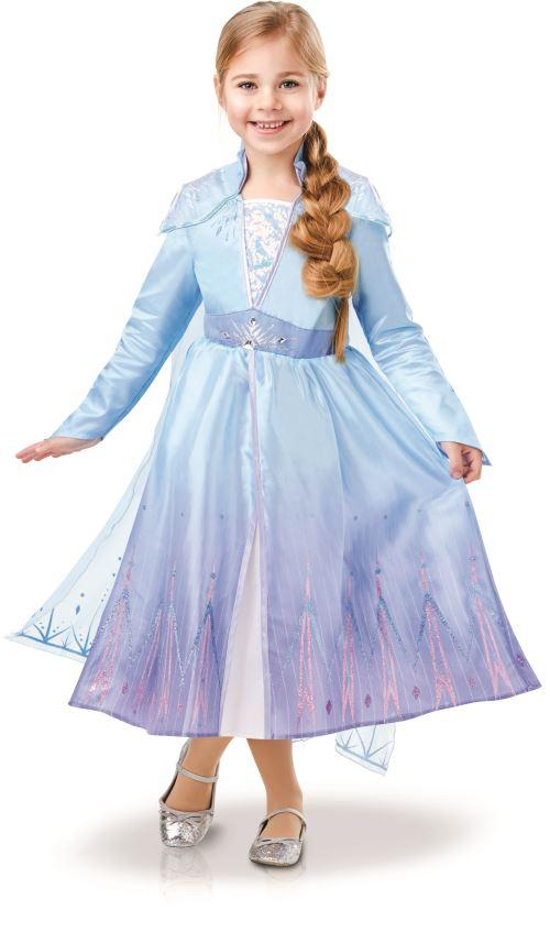 Costume luxe Disney La Reine des neiges Elsa Taille L