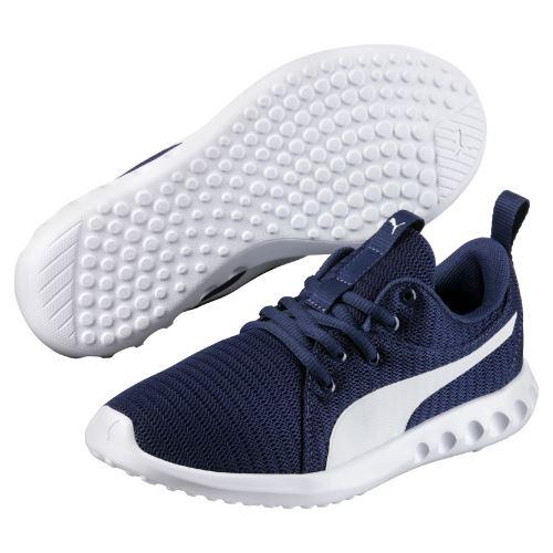Chaussures Enfant Puma Carson 2 Bleu marine Taille 38