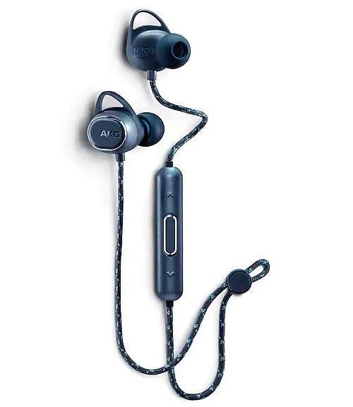 Ecouteurs Bluetooth AKG N200 Bleu