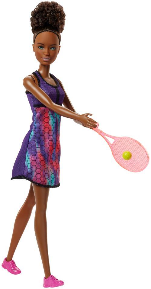 Poupée Barbie Joueuse de Tennis - Poupée. Achat et vente de jouets, jeux de société, produits de puériculture. Découvrez les Univers Playmobil, Légo, FisherPrice, Vtech ainsi que les grandes marques de puériculture : Chicco, Bébé Confort, Mac Laren, Babyb