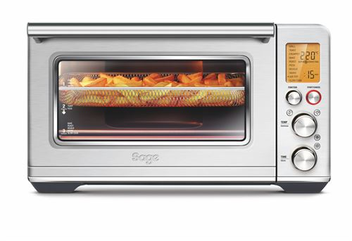 Four posable Sage The Smart Oven Air Fry 2400 W Argent
