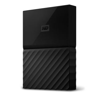 Disque Dur Externe WD My Passport pour Mac 4 To Noir