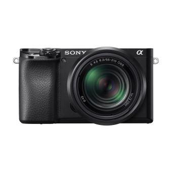 Boîtier Nu Hybride Sony Alpha A6100 Noir + Objectif Sony E PZ 16-50mm f/3.5-5.6 OSS + Objectif Sony E 55-210mm f/4.5-6.3 OSS