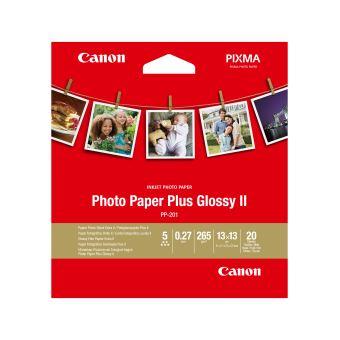 Papier Photo Canon Plus Glossy 2 13 x 13 cm