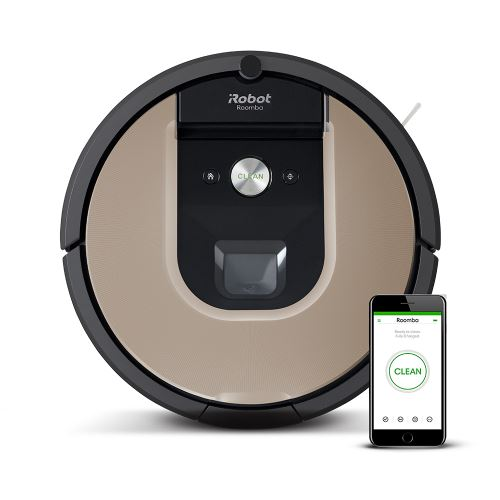 Aspirateur robot iRobot Roomba® 976 Beige et Noir