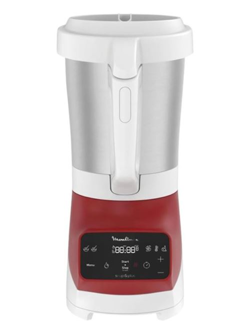 Blender Chauffant Soup And Co Plus 1100w Rouge Moulinex - Lm924500