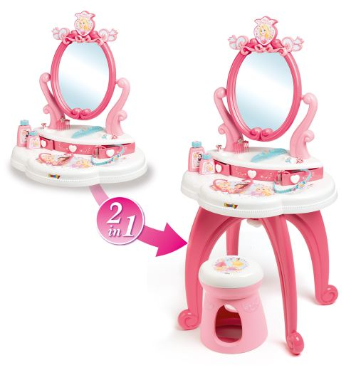 Coiffeuse 2 en 1 Smoby Disney Princess