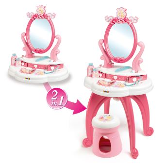 Coiffeuse 2 en 1 Smoby Disney Princess