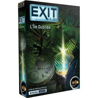Jeu de société Iello Exit L'Ile Oubliée
