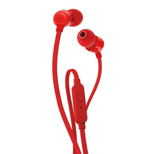 Ecouteurs intra-auriculaires filaire JBL Tune 160 Rouge
