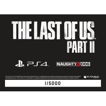 Lenticulaire The Last of Us Part II PS4