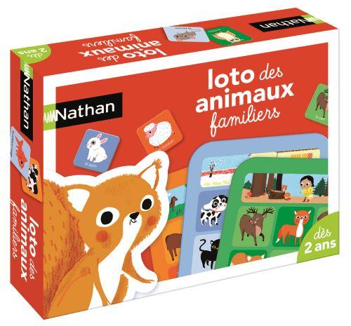 Jeu découverte Nathan Loto des animaux