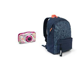 Nikon Coolpix W150 Compact Waterdicht Camera Bloem + Zak