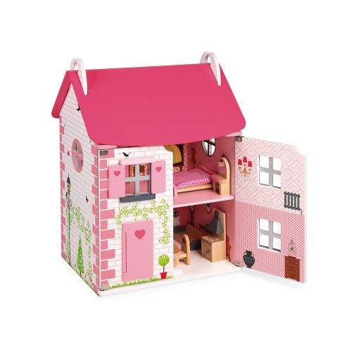 Maison de poupées Mademoiselle Janod Rose