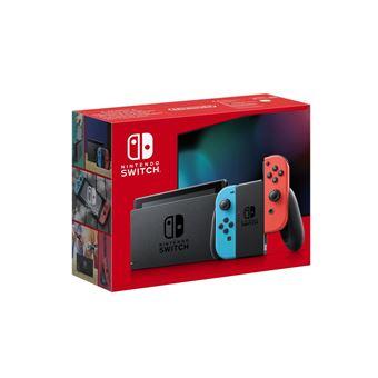 Console Nintendo Switch avec paire de Joy-Con Rouge et Bleu Neon