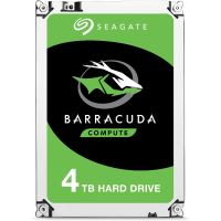 Disque Dur Interne Seagate BarraCuda ST4000DM004 4 To Argent