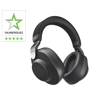 5 Sur Casque Sans Fil à Réduction De Bruit Jabra Elite 85h Noir