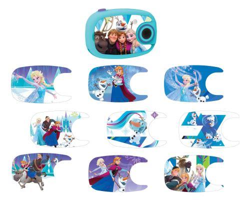 Appareil Photo Numerique avec 10 stickers Lexibook La Reine des Neignes