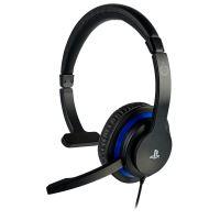 Micro-casque mono BigBen Communicator Noir et Bleu pour PS4