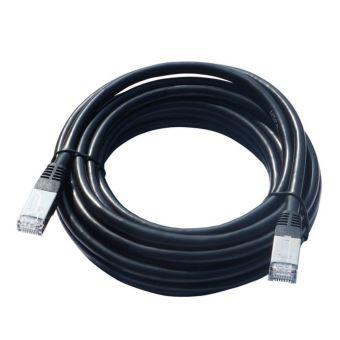 Câble Temium RJ45 CAT5 Droit 5 m Noir