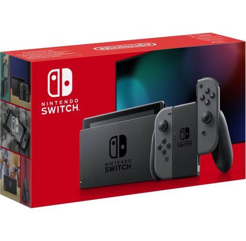Photo de console-nintendo-switch-joy-con-gris