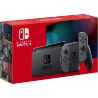 Nintendo Switch-console met een paar Joy-Con Gray