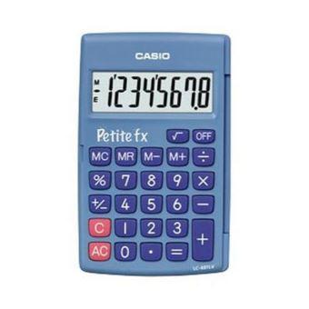 Calculatrice Casio Fx Junior Plus Bleue Calculatrice 4 Operations Achat Prix Fnac