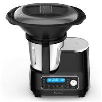 Robot Cuiseur Multifonction Moulinex HF456810 1400 W Noir