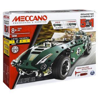 Cabriolet Meccano rétrofiction