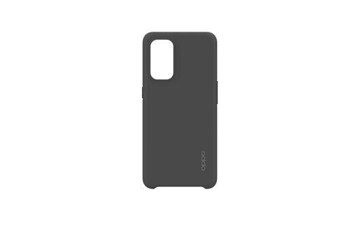 Coque silicone pour smartphone Oppo Find X3 Lite Noir