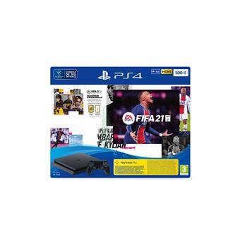 Photo de console-ps4-500-go-fifa-21-pack-fut-ps-14-jours