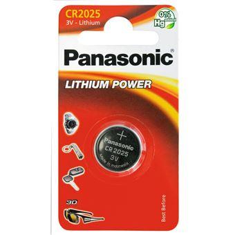 Panasonic cr2025 lithium pile bouton, 165mah