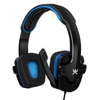 Casque Gaming Alpha Omega Players Eole C19 Noir et bleu pour PS4