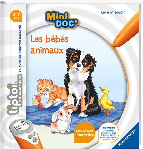 Livre interactif Ravensburger Tiptoi Mini Doc Les bébés animaux
