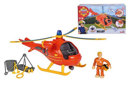 L'hélicoptère Simba Sam le Pompier Wallaby
