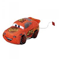 Peluche voiture à friction Flash McQueen Cars Disney 20 cm