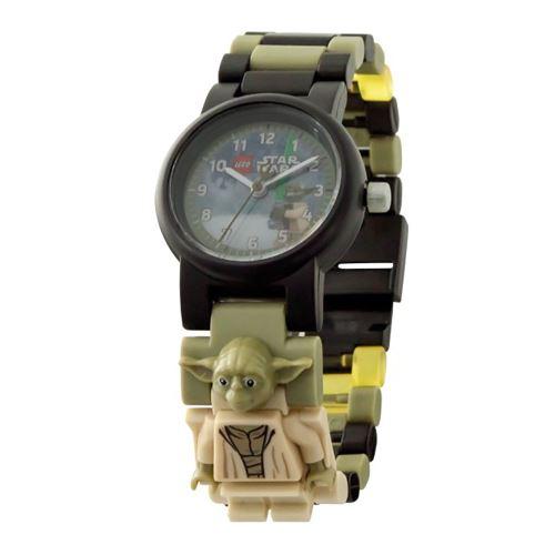 Profite du pouvoir du Jedi pour contrôler le temps avec cette montre-bracelet Yoda LEGO® Star Wars. Assemble les maillons multicolores et interchangeables pour créer ton propre modèle de bracelet. Construis ensuite la figurine de Yoda, équipe-la de son sa