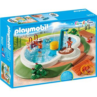 Playmobil Family Fun La Villa De Vacances 9422 Piscine Avec Douche